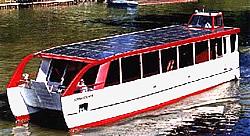 Solarschiff Sonnenschein