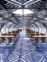 Solarschiff Alstersonne Innenraum