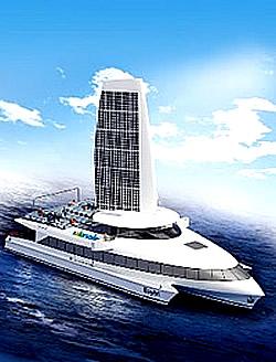 Solarschiff Baytri Grafik