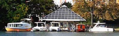 Solarpavillon in Köpenick 2006