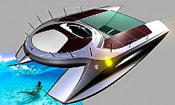 Design-Solarschiff von Forsgren Grafik