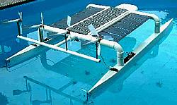 Solarschiff Solar Navigator Grafik