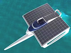 Solarschiff PlanetSolar Grafik