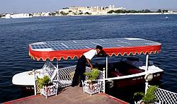 Solarboot in Indien