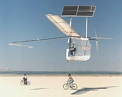 Solar-Pedal-Flugzeug Gossamer Penguin