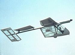 Solarflugzeug Solar Challenger Seitenansicht