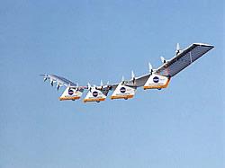 Unbemanntes Solarflugzeug Centurion