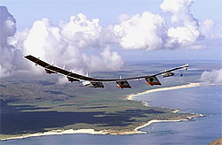 Unbemanntes Solarflugzeug Helios
