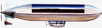 Solarluftschiff Sunship Grafik