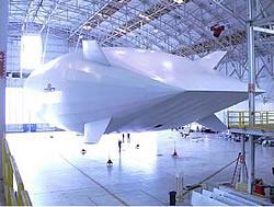 Unbemanntes Solarluftschiff Stratellite