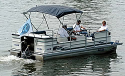 Stickstoffmotor-Boot