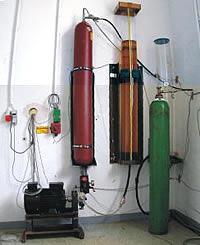 Druckgas-Speicher Versuchsanlage