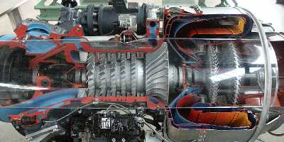 gasturbine turboprop flugzeug