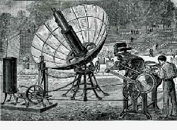 Solarbetriebe Druckmaschine von 1878