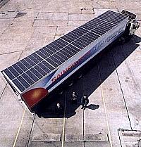 Kühl-Truck mit Solardach