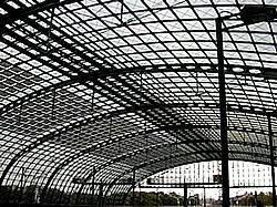 Solardach des Lehrter Stadtbahnhofs