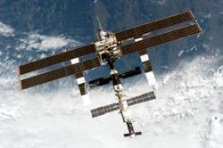 Raumstation ISS im Ausbaustand von 2006
