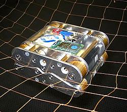 Netz-Crawler für Solarsatelliten