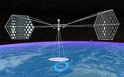 Grafik des NSSO-Solarsatelliten