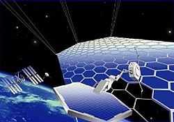 JAXA Solarsatellit (Grafik)