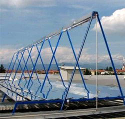 Fresnel Hochleistungskollektor Solar Energie