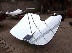 Solarkocher mit automatischer Solarnachführung
