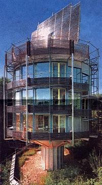 Drehbares Heliotrop-Haus