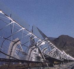 Almería Parabolrinnen Solaranlage