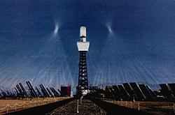 solar one turmkraftwerk Kraft der Sonne Solarthermie