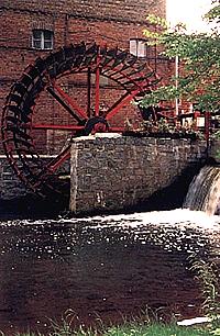 Europäische Wassermühle