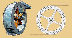 Segmentkranz Wasserrad  (Zeichnung)