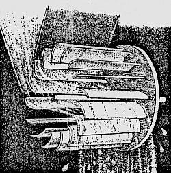Durchströmturbine Grafik