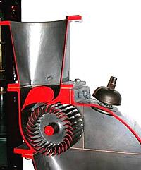 Modell einer Ossberger-Turbine von 1981