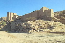 Ruine des Marib-Staudammes