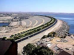 Assuan-Staudamm