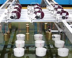 Labormodell des Manchester Bobber