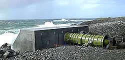 Limpet OWC Wellenkraftwerk