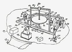 Papentzeichnung des GyroWaveGen-Prinzips