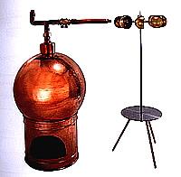 Dampfbetriebener Bratspieß Modell