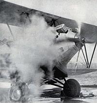 Dampf-Flugzeug von 1933