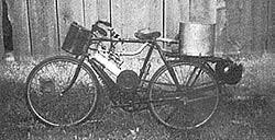 Hudspith-Dampffahrrad-Selbstbau von 1972