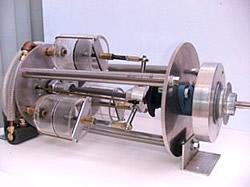 Dreizylinder Green Steam Engine