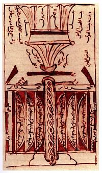 Zeichnung von al-Dimaschqi