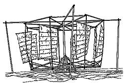 Chinesische Windmühle Grafik