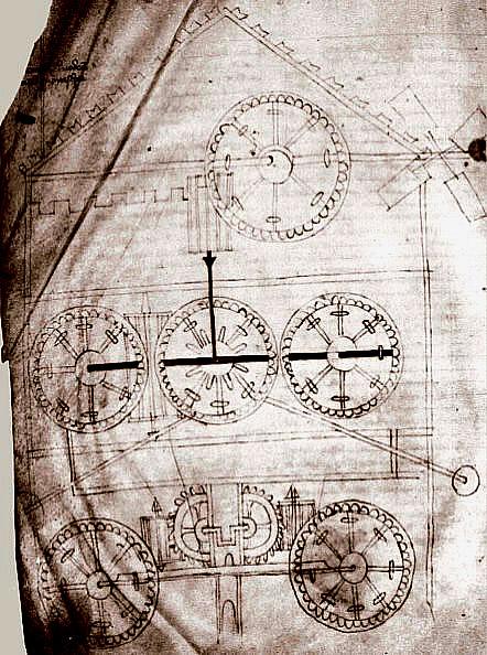Windwagen Grafik von 1335