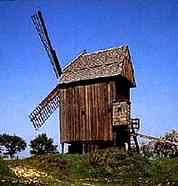 Europäische Bockwindmühle