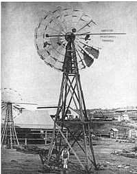 Australisches Windrad von 1875
