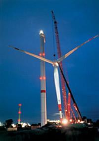 REpower 5 M Windkraftwerk im Bau