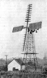 Dänisches Windrad von 1907