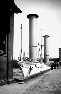 Die Baden-Baden im Hafen